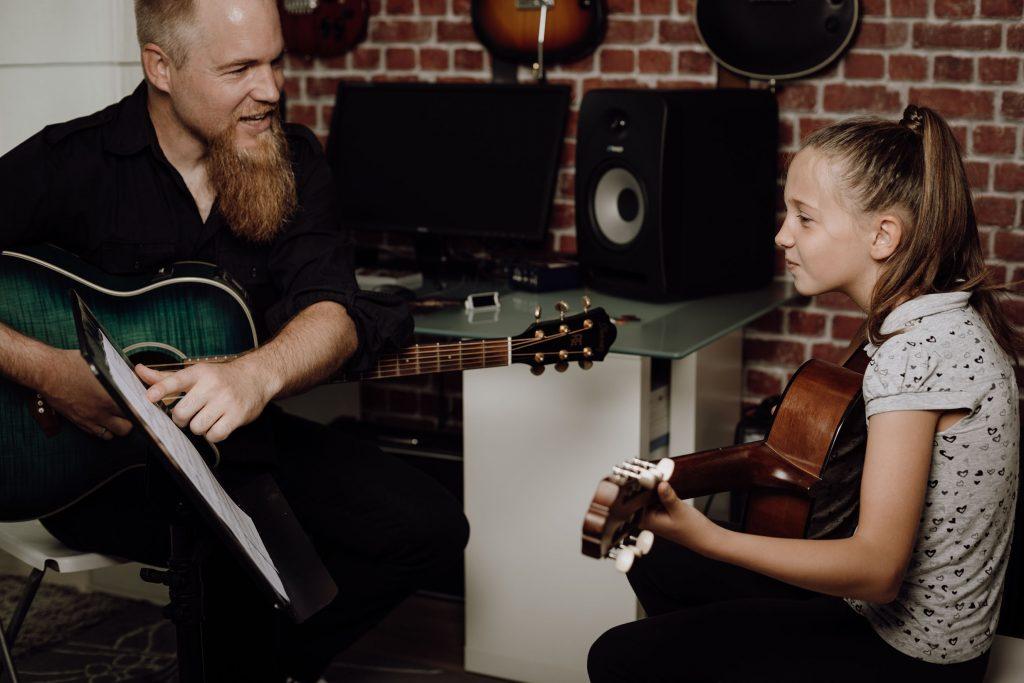 Samuel George - Professeur de guitare rennais